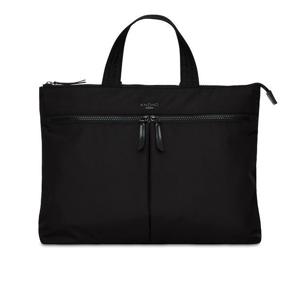Dalston; Copenhagen; Briefcase; Black; 129-101-BLK2; front; 1MB