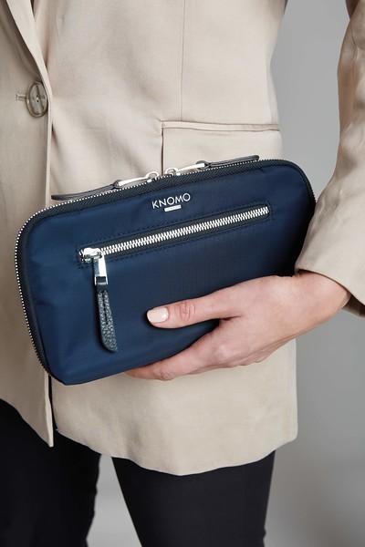 Mayfair, Travel Wallet, Dark Navy Blazer, 119-051-BLZ, Female Model