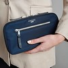 Mayfair, Travel Wallet, Dark Navy Blazer, 119-051-BLZ, Female Model