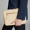 "Mayfair, Knomad Organiser, 10.5"", Tech Organiser for Everyday, X-Body, Trench Beige, 119-070-TRB, Female Model"