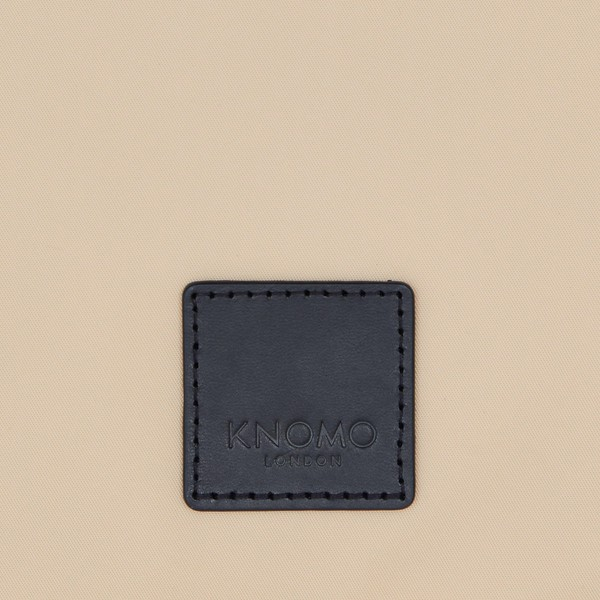 """Fulham, Knomad Organiser 10.5"""", X-Body, Trench Beige, 160-068-TRB, Logo Close Up, 1MB"""