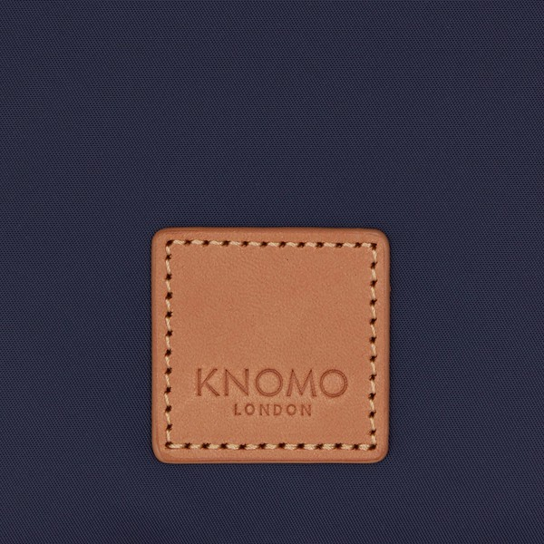 "Fulham, Knomad Organiser 10.5"", X-Body, Dark Navy, 160-068-NVY, Logo Close Up, 1MB"