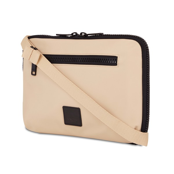 """Fulham, Knomad Organiser 10.5"""", X-Body, Trench Beige, 160-068-TRB, Three Quarter With Strap, 1MB"""