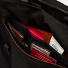 Fulham, Tournay, black, 160-202-BLK, front pocket filled with items, 1MB