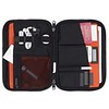 "Fulham, Knomad Organiser 10.5"", X-Body, Black, 160-068-BLK, Internal With Items, 1MB"