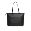 "Maddox Leather Tote 15"" 120-204-BLK"