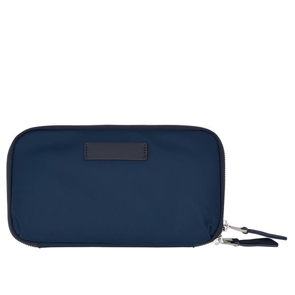 Mayfair, Organiser For Travel, Travel Wallet, Dark Navy Blazer, 119-051-BLZ, Back, 1MB