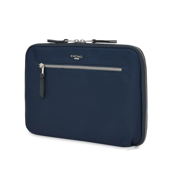 "Mayfair, Tech Organiser For Everyday, 10.5"" X-Body, Dark Navy Blazer, 119-070-BLZ, Three Quarter, 1MB"