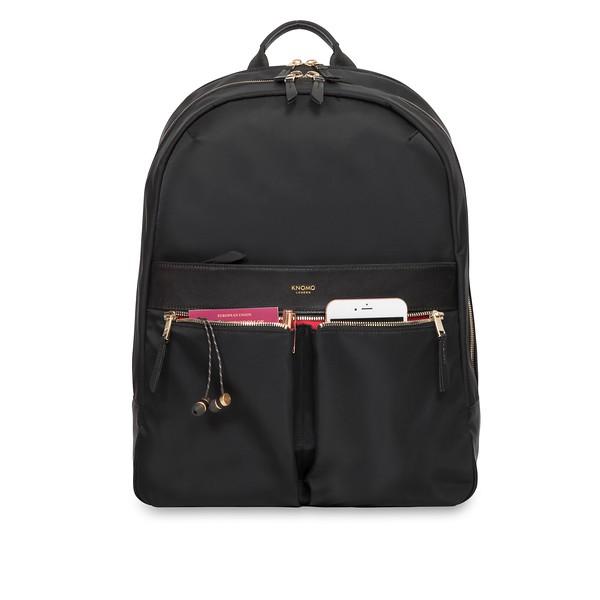 Mayfair, 119-410-BLK2, Beauchamp XL, black, front pockets filled