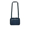 "Mayfair, Tech Organiser For Everyday, 10.5"" X-Body, Dark Navy Blazer, 119-070-BLZ, Front With Strap Up, 1MB"