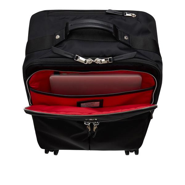 "AW18 Mayfair Park Lane Luggage 15"" 119-805-BSN Inside"