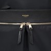 Mayfair, 119-410-BLK2, Beauchamp XL, black, close up front zips