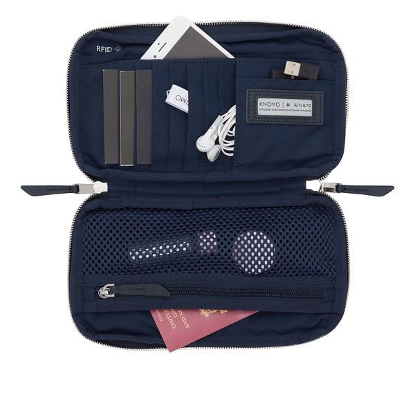 Mayfair, Organiser For Travel, Travel Wallet, Dark Navy Blazer, 119-051-BLZ, Internal With Items, 1MB