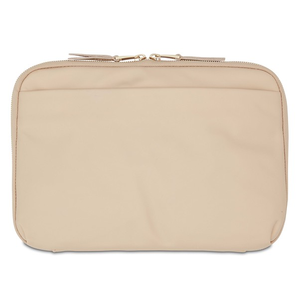 """Mayfair, Tech Organiser For Everyday, 10.5"""" X-Body, Trench Beige, 119-070-TRB, Back, 1MB"""