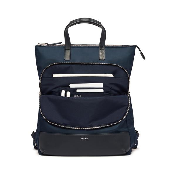 Mayfair, 119-413-BLZ, Harewood , dark navy blazer, front pocket open with items, 1MB