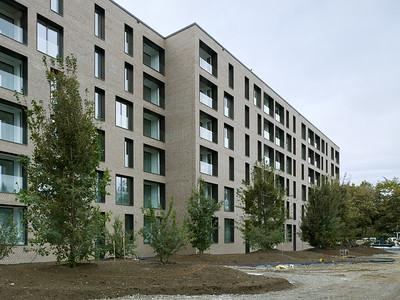 04 Haus B: Nordfassade und Hof | House B: north facade