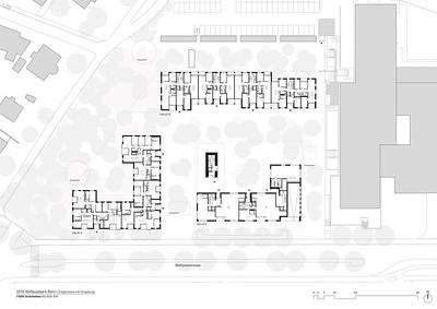 Plan 02 Erdgeschoss mit Umgebung | Ground floor and surrounding environment