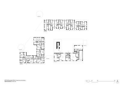 Plan 03 Erdgeschoss alle Gebäude | Ground floor all buildings