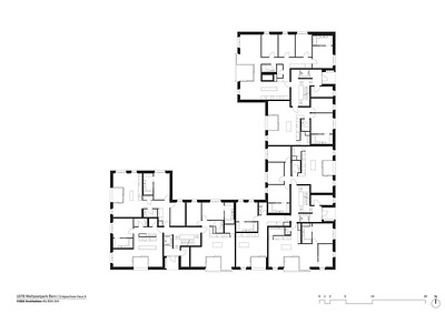Plan 05 Erdgeschoss Haus A | Ground floor House A