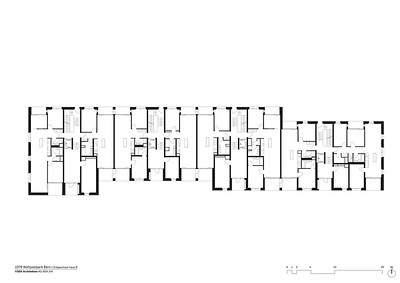 Plan 06 Erdgeschoss Haus B | Ground floor House B