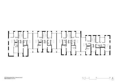 Plan 06 Erdgeschoss Haus B | Ground floor House B