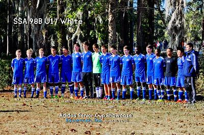 SSA U17 Chelsea 98B White Fall 2014