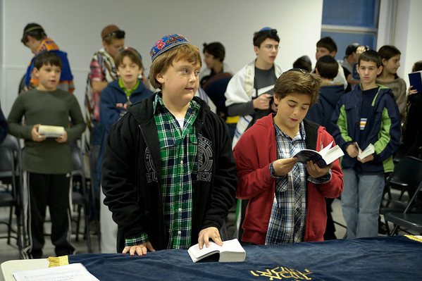 2011-10-31 SSDS - Middle School Morning Minyan