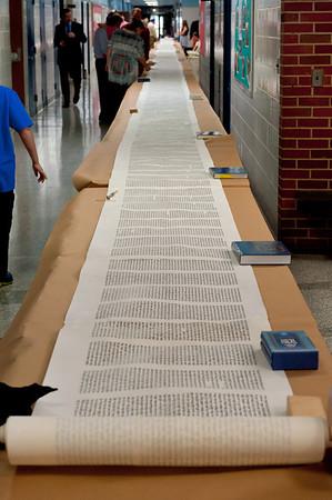 2013-09-22 New Sefer Torah