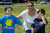 JERICHO, NY - May 24, 2008: All grades at Schechter play Color Wars (Field Day).