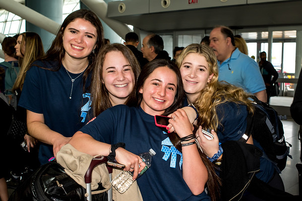 2018-05-22 SSLI Leave for Israel at JFK