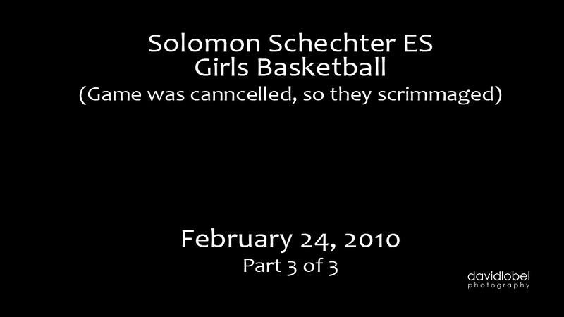 2010-02-24 SSDS Girls Basketball Part Three