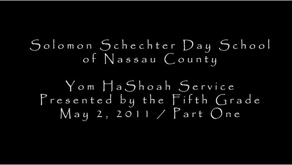 2011-05-02 Holocaust Remembrance
