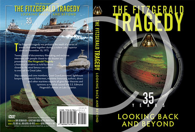 For information about this video, by many considered to be the best video ever produced about the Edmund Fitzgerald storm and tragedy, contact Don Hermanson at www.keweenawvideo.com . Note two Doris Sampson paintings on the back cover--top and middle images.