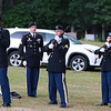 On Saturday June 23, 2018 WWII  veteran SSG Roy F. Davis was final put to rest in the Glenwood Cemetery in Ashby. He died on March 12, 1944. It took 74 years for him to come home. Members of the MA. Military Funeral Honors for the United States Army give a three-volley salute during the funeral ceremony for Davis. SENTINEL & ENTERPRISE/JOHN LOVE