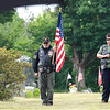 On Saturday June 23, 2018 WWII  veteran SSG Roy F. Davis was final put to rest in the Glenwood Cemetery in Ashby. He died on March 12, 1944. It took 74 years for him to come home. American legion Riders from Chapter 221 out of Bedford MA. Charly and Lori Smith from Pepperell were on had to help pay respects to Davis during the funeral ceremony. SENTINEL & ENTERPRISE/JOHN LOVE
