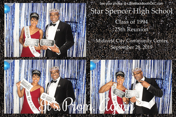 SSHS 25th Reunion King & Queen!