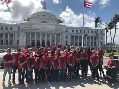 SSL Students Educational Field Trip to Old San Juan