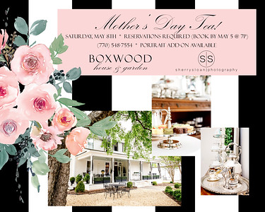 Mother's Day Tea Ad