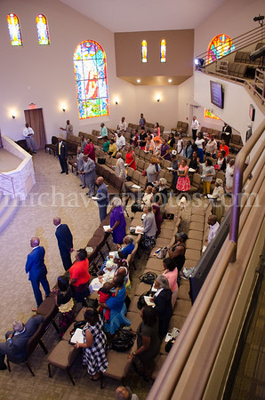 Bishop Lovester Adams preaches at Southern Saint Paul's South Campus