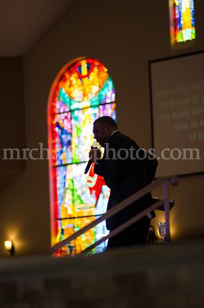 Bishop Wendell Davis preaches preaches at Southern Saint Paul's South Campus