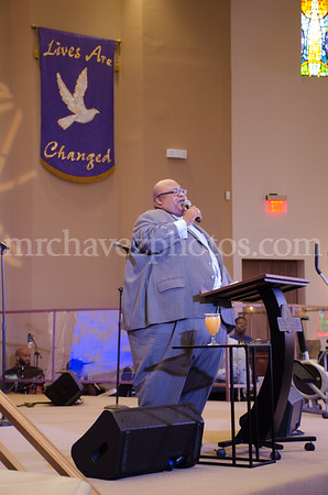 Pastor Roderick O. Walker preaches at Southern Saint Paul Church of Los Angeles