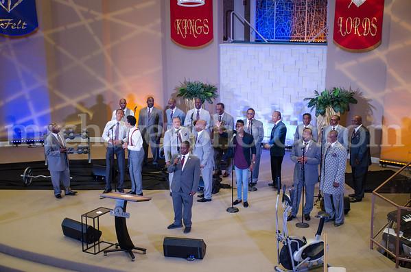 Deacon Darren Willis speaks at Southern Saint Paul Church of Los Angeles