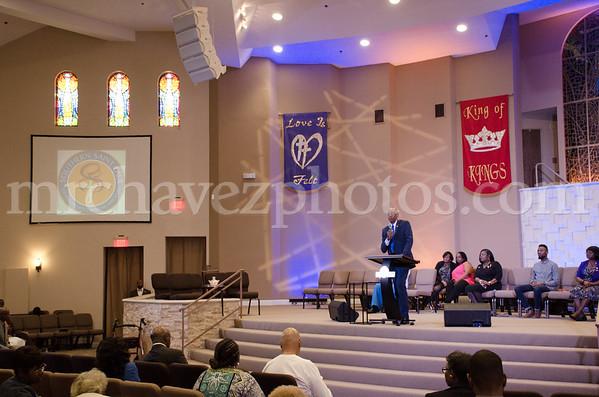 Rev. J. L Gates Sr. preaches at SSP