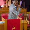 SSP Visits and Minister Isaiah Brown preaches at Saint Rest Church
