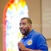 Sr Pastor Xavier L. Thompson preaches preaches at Southern Saint Paul's South Campus