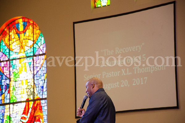 """Pastor Thompson preaches """"The Recovery"""""""