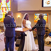 Otis Reynolds and Geraldine Mitchell wedding ceremony