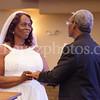 Otis Reynolds and Geraldine Mitchell wedding ceremony