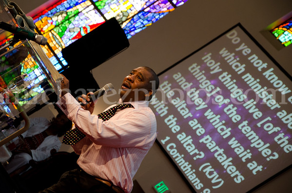 SMBC Money Matters Series, Pastor X. L. Thompson