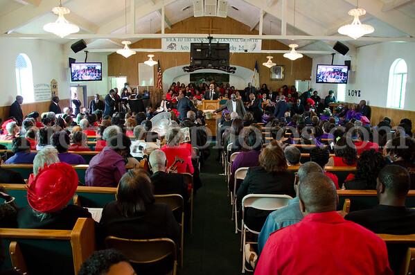 4-12 Travelers Rest Pastor Gates 1st Anniv-98